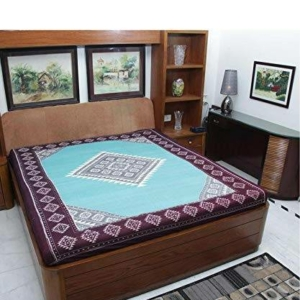Sambalpuri Bandha Cotton Double Bedsheet