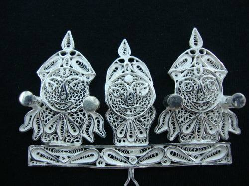 Shree Jagannath Silver Filgree Work