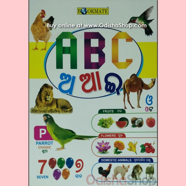 Odia Kids Book ABC A AA E