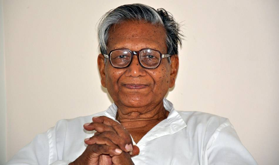 Manoj Das Received Mystic Kalinga Literary Award