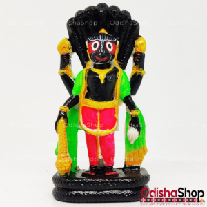 Idol Of Lord Jagannath Narayan Avatar With Basuki in Marble From OdishaShop For Puja Gifting Home Decor Vehicle Dashboard