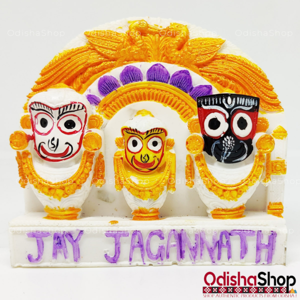 Lord Jagannath Balaram Subhadra Idol for car Dashboard Idols for Gift