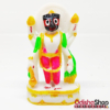 Lord Jagannath Narayan Avatar Idol in Marble With Shank Chakra Gada Padma For Puja Gifting Car Dash Board Home Decor