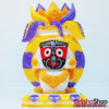 Marble Idol of Lord Jagannath in Kalasha Puja, Home Decor, Gifting, Car Dashboard