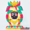 Marble Idol of Lord Jagannath in Kalasha for Puja, Living Room, Study, Hotels, Office, Corporate House, Religious Places, Car Dash Board, Gifting etc Decorative Showpiece